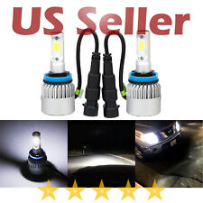 JDM MAD 2x G1 H11 COB 8000 Lm Super Bright White 12V LED Fog Driving Light Bulb