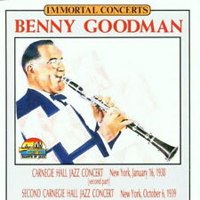 Benny Goodman Carnegie Hall Jazz Concert & Second Carnegie Hall Jazz Concert