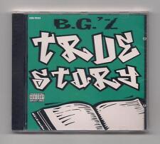 B.G.'Z - True story CD rare 1997 SEALED Cash Money Records