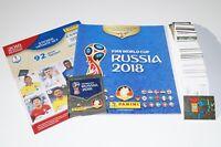 PANINI Russia 2018 World Cup 18 - Komplettset 691 + Album + Update + McD Deutsch