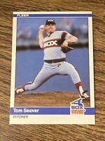 Vintage 1984 Fleer Update TOM SEAVER #U-106 Mets Reds White Sox P HOF RARE NM/Mt