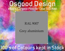 GREY ALUMINIUM MATT RAL 9007 Powder Coat Coating ALLOY WHEEL PAINT REFURBISH