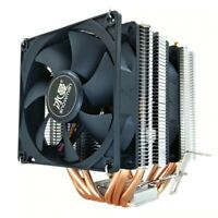 SNOWMAN CPU Cooler 6 Heat Pipes 4 Pin PWM RGB CPU Cooling Fan For AMD AM3 AM4 SE