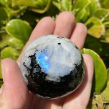 Rainbow Moonstone Sphere - High Grade Stunning Crystal Ball (50mm Size)