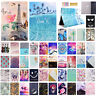 For iPad 6th Gen 9.7'' 2018 Pattern Folio Leather Wallet Smart Stand Case Cover
