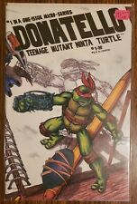 DONATELLO #1 ~ VF 1986 MIRAGE COMIC ~ KEVIN EASTMAN & PETER LAIRD STORY AND ART