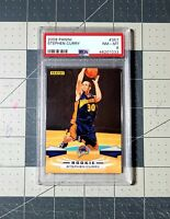 STEPH CURRY PSA 8 09/10 Panini #357 Rookie (RC) GSW Warriors 📈INVEST📈 LOW POP