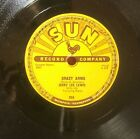 Jerry Lee Lewis Sun 78 Crazy Arms b/w End Of The Road