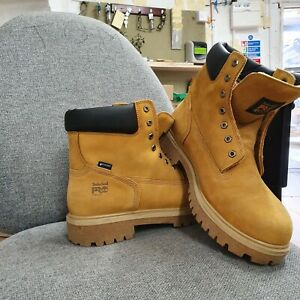 Timberland Pro safety boots steel cap oil resistant 24/7. Size 12.5 UK 47.5 EU