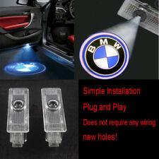 BMW 2X LED PROJECTOR LIGHTS LOGO EMBLEM ACCESSORY CAR DOOR BRIGHT LIGHTS SERIES