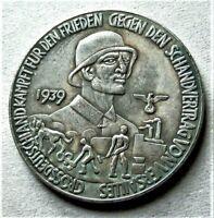 WW2 GERMAN COMMEMORATIVE COLLECTORS COIN '39 - '40