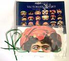 VINTAGE BOOK MADAME TUSSAUD'S BOOK OF VICTORIAN MASKS LAMBOURNE 1987 6 Masks