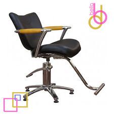 BLACK & OAK Armrest Hydraulic Hair Styling Chair Barber & Beauty Salon Equipment