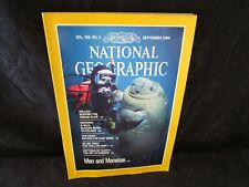 National Geographic September 1984 Iceland River Topsoil Farm Patterns Manatees