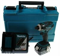 Makita XDT042 18V LXT Lithium-Ion Cordless Impact Driver + Battery + Charger KIT