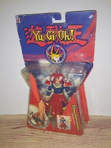 NIB Yu-Gi-Oh! Flame Swordsman Figure Hologram Base Series 9 NEW IN BOX