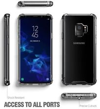 Exact Design Crystal Clear Case【Clear TPU Bumper】Case For Samsung Galaxy S9