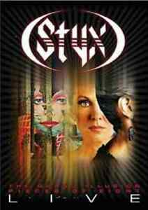 Styx: The Grand Illusion/Pieces of Eight - Live NEW! DVD,CONCERT LIVE WIDESCREEN