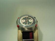 70'S RAREST HAMILTON CHRONOMATIC COUNT DOWN GMT,SS,AUTO,HEUER CAL 14,47 MM DIA