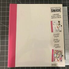 K&Company Smash 3-Ring Binder Pink New In Package