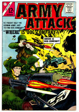 ARMY ATTACK #3 in VF/NM condition a 1964 Charlton Silver Age WAR comic