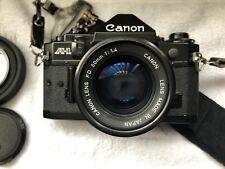 Canon A-1, Nikon Fm, Konica III 35mm Camera Lot plus extras!!