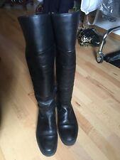 Winterstiefel Stiefel TAMARIS Gr 40 schwarz Materialmix Leder 52 cm höhe