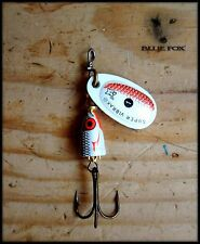 BLUE FOX VIBRAX  WILD EYE spinner size 1 (Made in Finland)
