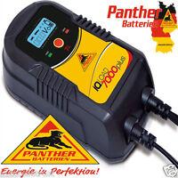 Profi 12V/24V Intelligentes Auto KFZ Batterie 9-Stufen Ladegerät Autobatterie