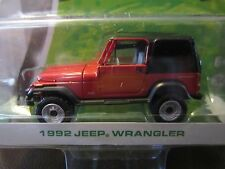GreenLight 1992 Jeep Wrangler YJ Motor World 16 American 1:64 S Scale Diecast