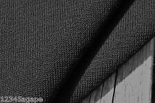 D233 Negro Brazalete De Punto Fino Llano Lujoso Cintura Mezcla de lana sólida medio