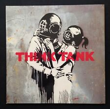 "BANKSY cover - BLUR ""think tank"" vinyl double 33T (2 x LP 12"") /haring/warhol"