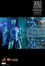 Hot Toys MMS314D12 Iron Man Mark III Stealth Mode Version Diecast MISB