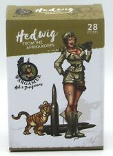 Wargamer HD-28-03 Hedwig Afrika Korps (28mm) Hot & Dangerous Female Infantry NIB