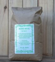 Organic Bone Meal 2-14-0 - 50 Lbs bag Fertilizer