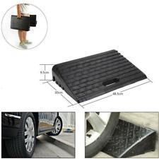 2X Rampas de Goma Acera Para Auto Movilidad en Silla de Ruedas Discapacitados
