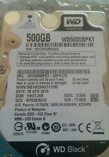 """Western Digital Black WD5000BPKT hard drive 500GB 2.5"""" SATA 7200 RPM Laptop HDD"""