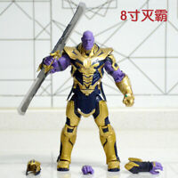 "8"" Avengers 4 Endgame Infinity Legends Thanos 20cm Movable Action Figure"