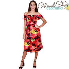 Polyester Mid-Calf Sundresses for Women
