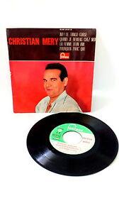 45 RPM Christian Mery Ah! le Tango Corsica Vinyl Music