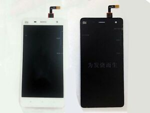 Lcd Display +Touch Screen For Xiaomi Redmi Mi4 Glass Slide black and white