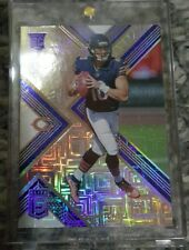 MITCHELL TRUBISKY ELITE ICE BLUE ROOKIE REFRACTOR SSP /15 ROOKIE BEARS