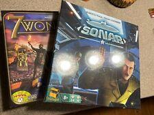 LOT of 2 - EURO STYLE SONAR & 7 Wonders Board Game REPOS Matagot  Games SEALED