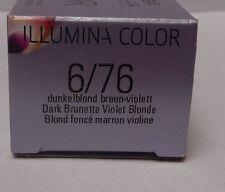 Wella Illumina Color 6/76 Rubio oscuro Marrón-violeta 60ml