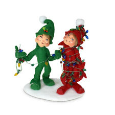 Annalee Dolls 2021 Christmas 5in Tied up Elves Plush New with Tag