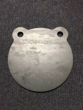AR500 Steel Target Gong 6 x 3/16 Double Hole Action Pistol Plate IDPA! USA MADE!