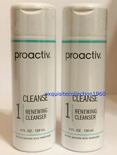 Proactiv Renewing Cleanser 4oz TWO Bottles (8 oz 120 Day Supply)Cleanse EXP 2021