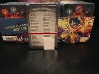 Keyforge AoA - Brobnar, Logos, Untamed  Save the Pack