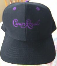CROWN ROYAL WHISKEY & COLA  / VINTAGE 100% COTTON EMBROIDERED BASEBALL CAP / HAT