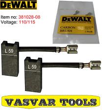 DeWalt Carbon Brushes for DW716EXPS DW717XPS DW708 DW712 DW716E DW716 381028-08